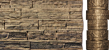 "Внешний угол Exteria  ""природный камень"" 0.16х0.49х0.16"