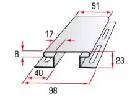 Планка соединительная H 3.05 м